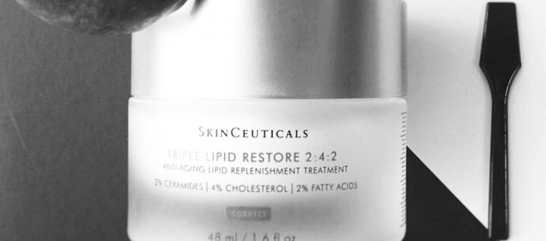 TRIPLE LIPID RESTORE 2.4.2 la última novedad antiaging de SkinCeuticals